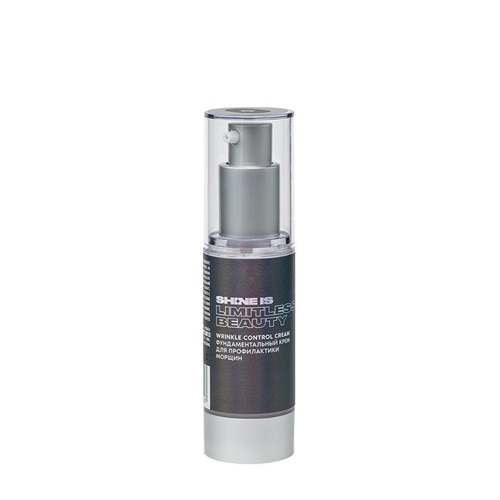 Купить Крем для лица Shine is Wrinkle Control Cream, Фундаментальный крем-скульптор для профилактики морщин на коже лица, Россия
