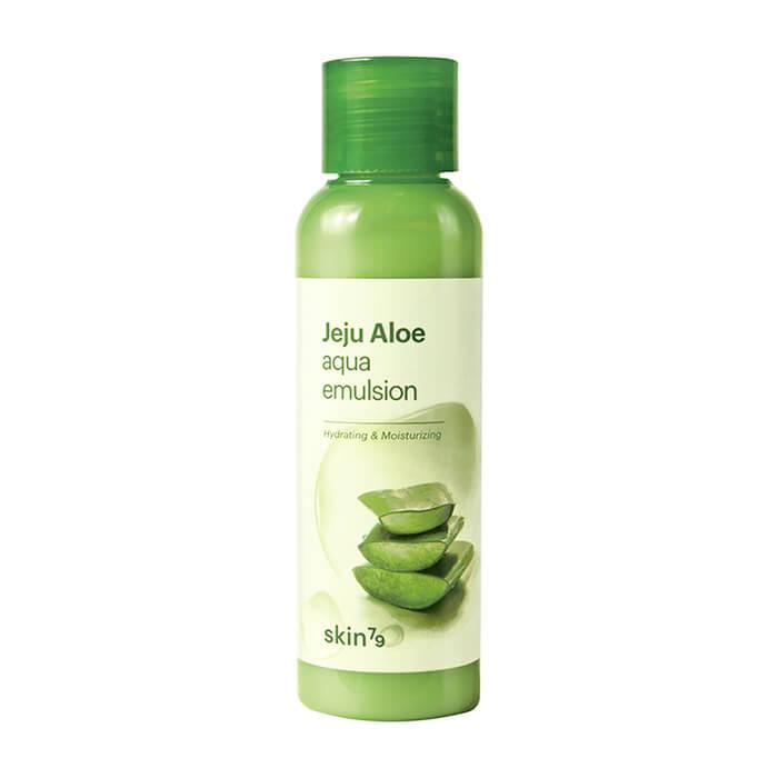 Купить Эмульсия для лица Skin79 Jeju Aloe Aqua Emulsion, Увлажняющий тонер для кожи лица с экстрактом алоэ с острова Чеджу, Южная Корея