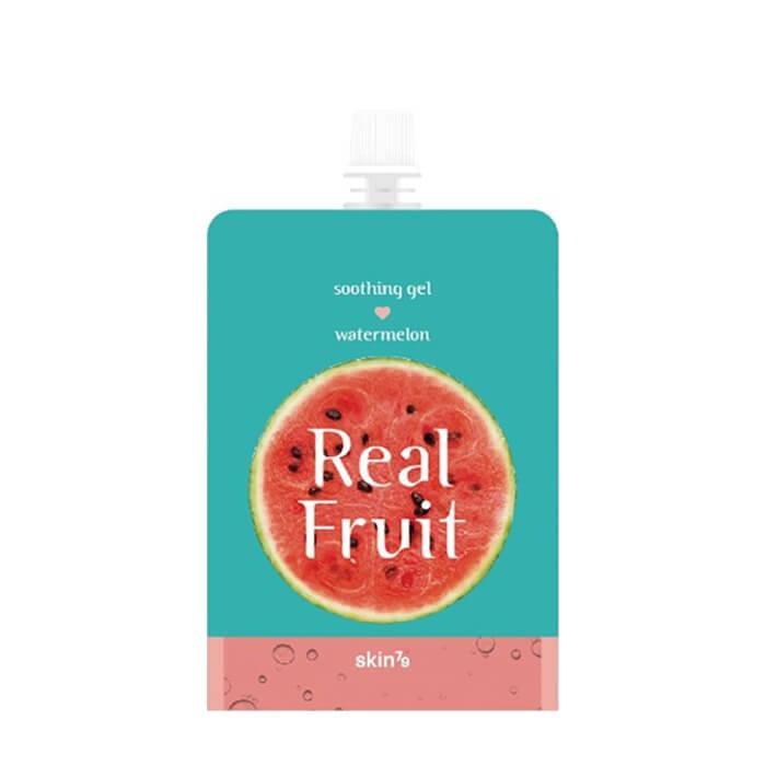 Гель для лица Skin79 Real Fruit Soothing Gel Watermelon Универсальный увлажняющий и питательный гель с экстрактом клюквы фото
