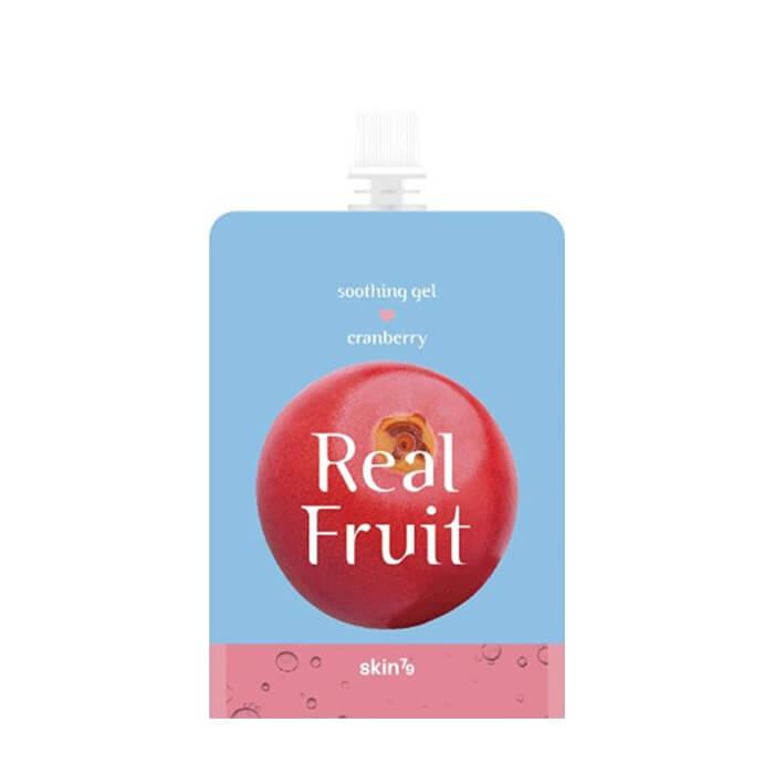 Гель для тела Skin79 Real Fruit Soothing Gel Cranberry Универсальный увлажняющий и питательный гель с экстрактом клюквы фото