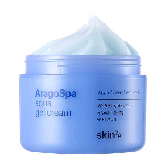 Купить Гель-крем для лица Skin79 Aragospa Aqua Gel Cream, Увлажняющий крем-гель для кожи лица с водой термальных источников, Южная Корея