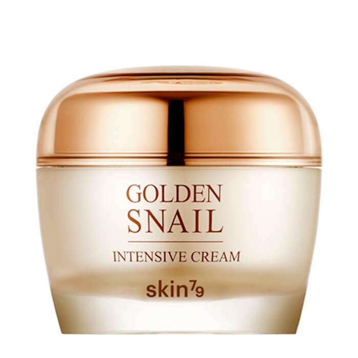 Купить Крем для лица Skin79 Golden Snail Intensive Cream, Антивозрастной крем для лица с фильтратом слизи улитки, Южная Корея