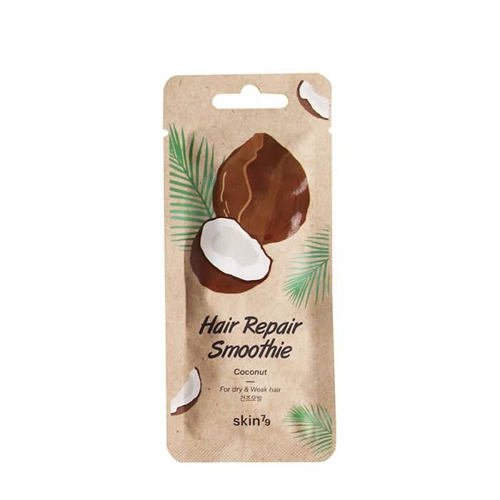 Купить Маска для волос Skin79 Hair Repair Smoothie Coconut, Маска для восстановления сухих и слабых волос с экстрактом кокоса, Южная Корея