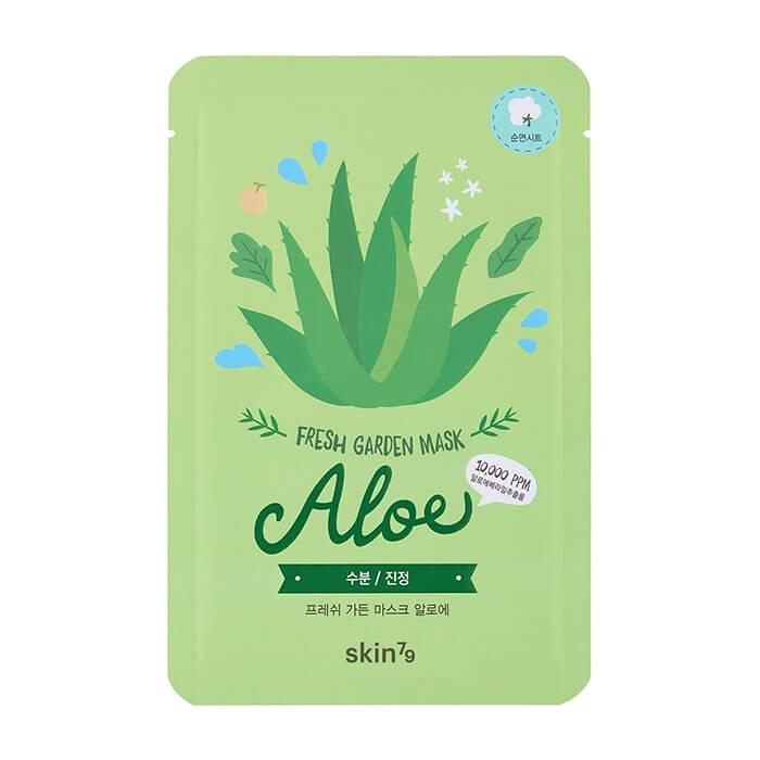 Купить Тканевая маска Skin79 Fresh Garden Mask Aloe, Смягчающая тканевая маска для кожи лица с соком алоэ, Южная Корея