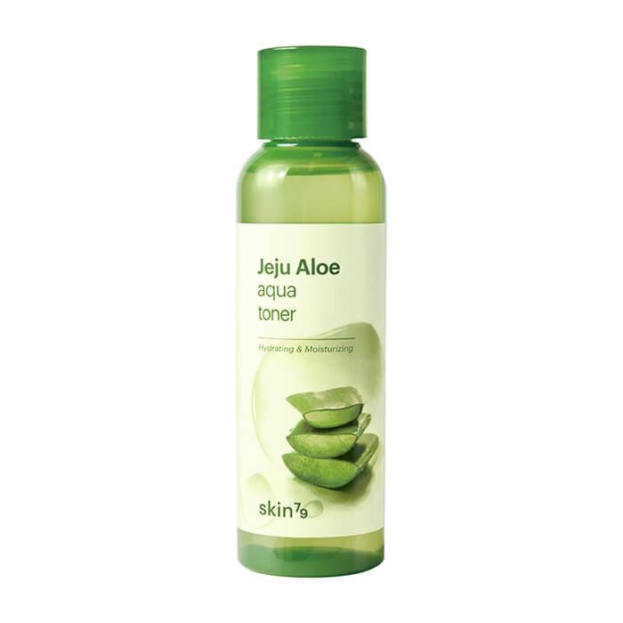 Купить Тонер для лица Skin79 Jeju Aloe Aqua Toner, Увлажняющий тонер для кожи лица с экстрактом алоэ с острова Чеджу, Южная Корея
