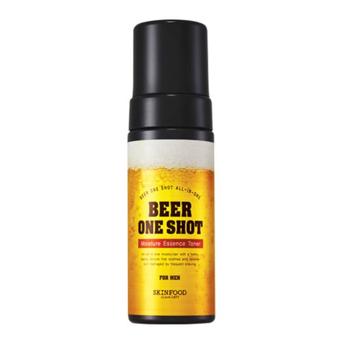Купить Тонер для лица Skinfood Beer One Shot Moisture Essence Toner For Men, Увлажняющий тоник-эссенция с экстрактом пива для мужчин, Южная Корея