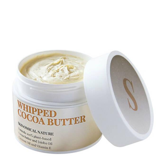 Масло для лица и тела Skinomical Whipped Cocoa Butter Универсальное взбитое масло какао для ухода за кожей лица и тела фото