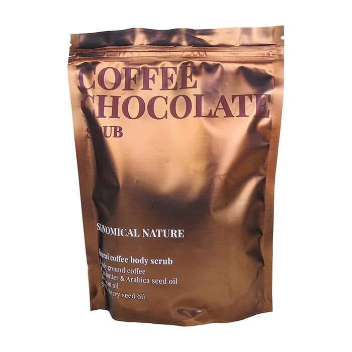 Купить Скраб для тела Skinomical Natural Coffee Chocolate Scrub, Кофейный скраб для тела с маслом какао и ароматом шоколада, Южная Корея