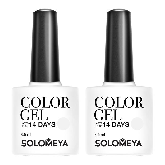 Купить Гель-лак для ногтей Solomeya Color Gel, Цвет #125 Super White   Супер белый, Высокопигментированный гель-лак плотной текстуры для насыщенного цвета, Великобритания