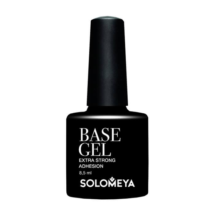 Купить Базовое гелевое покрытие для ногтей Solomeya Base Gel Extra Strong Adhesion SBG, Базовый гель для улучшения сцепления гель-лака с ногтями и защиты от пигментации, Великобритания