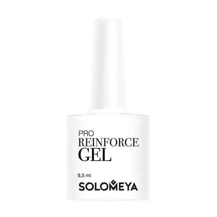 Купить Гель для укрепления ногтей Solomeya Pro Reinforce Gel LED/UV, Многофункциональный гель 3 в 1 с витаминами и минералами для укрепления ногтей, Великобритания