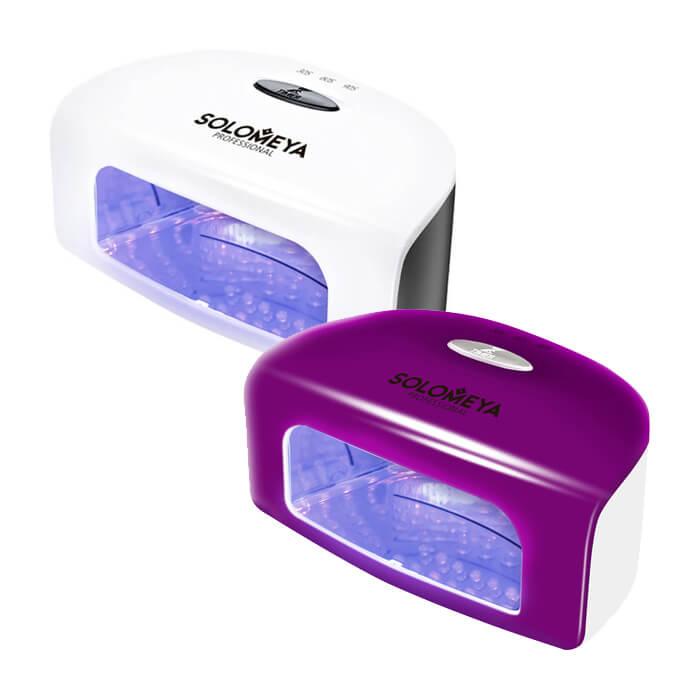 Купить Лампа для маникюра Solomeya Super Arch 9G LED Lamp, Цвет #1 Белая, Компактная профессиональная LED-лампа для полимеризации гель-лаков, Великобритания