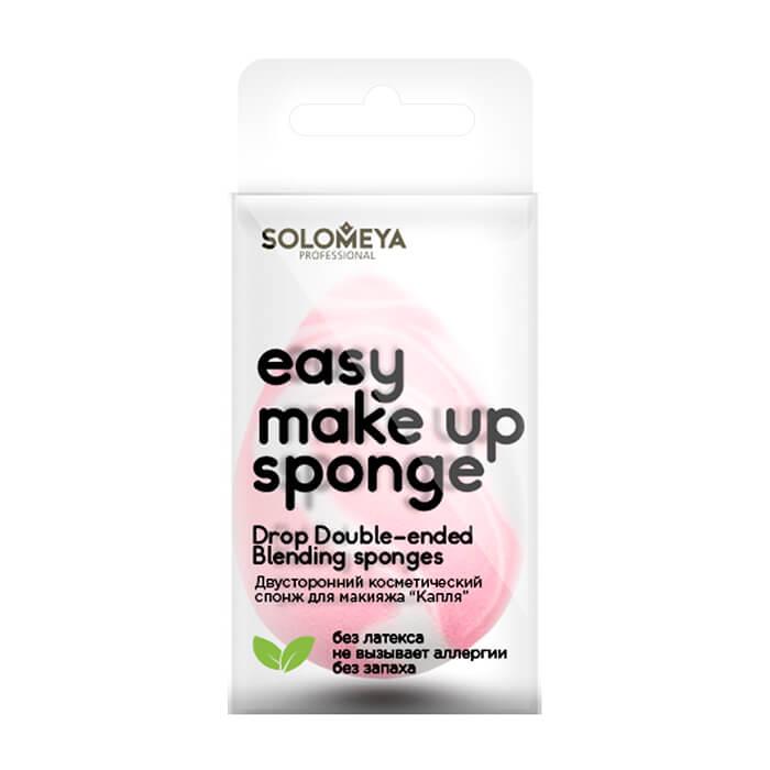"""Купить Спонж для макияжа Solomeya Drop Double-Ended Blending Sponge, Двусторонний косметический спонж для макияжа """"Капля"""", Великобритания"""