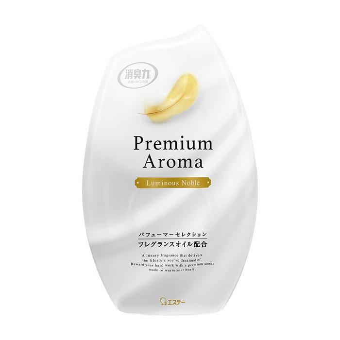 Купить Ароматизатор для комнаты ST Shoushuuriki Premium Aroma Luminous Noble, Жидкий дезодорант-ароматизатор для комнат с фруктово-цветочным ароматом, ST Family, Япония