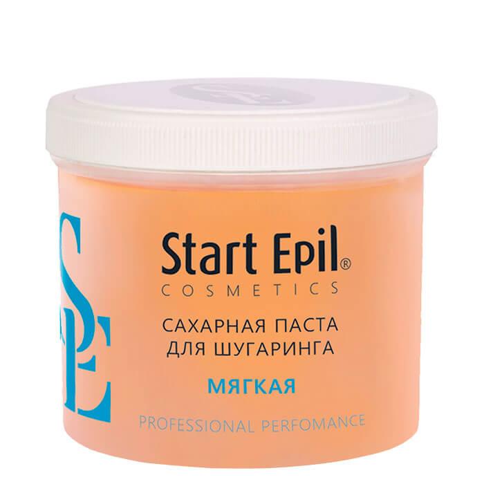 Купить Паста для шугаринга Start Epil - Мягкая (750 г), Сахарная паста для домашнего шугаринга мягкой консистенции, Россия
