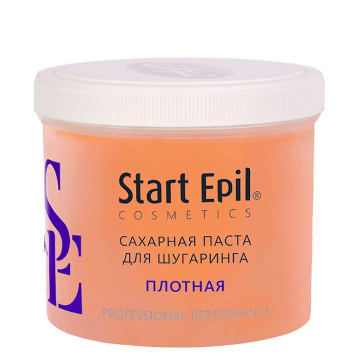 Купить Паста для шугаринга Start Epil - Плотная (750 г), Сахарная паста для домашнего шугаринга плотной консистенции, Россия