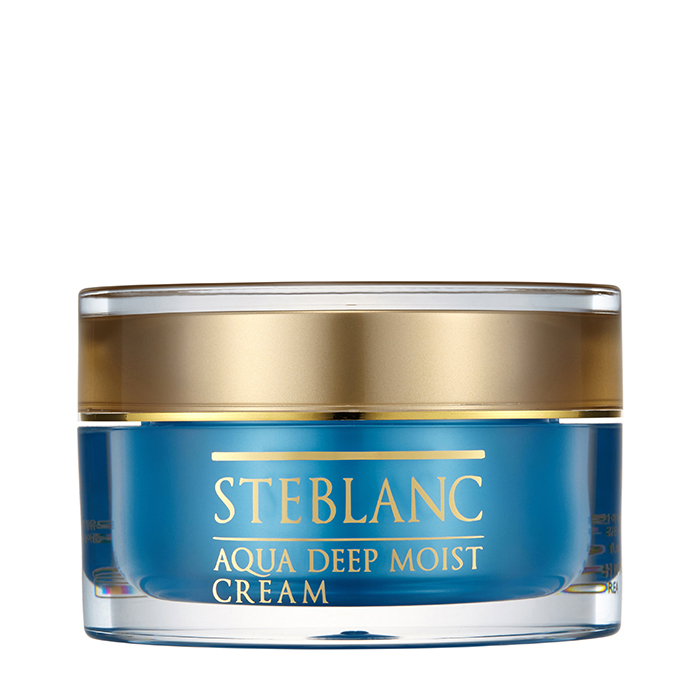 Купить Крем для лица Steblanc Aqua Deep Moist Cream, Глубоко увлажняющий крем для лица, Южная Корея