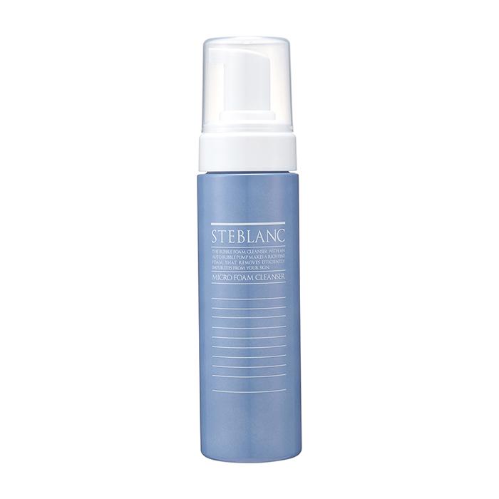 Купить Очищающая пенка Steblanc Micro Foam Cleanser, Воздушная и густая пенка для умывания кожи лица, Южная Корея