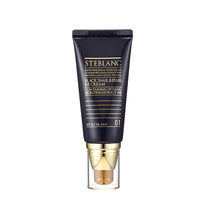 ВВ крем Steblanc Black Snail Repair BB Cream, Цвет #1 Light Beige | Светло-бежевый
