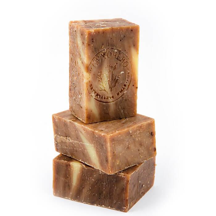 Мыло для тела Сухочево - Эвкалипт Натуральное мыло ручной работы с экстрактом эвкалипта фото