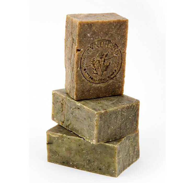 Мыло для тела Сухочево - Мята перечная Натуральное мыло ручной работы с экстрактом мяты перечной фото