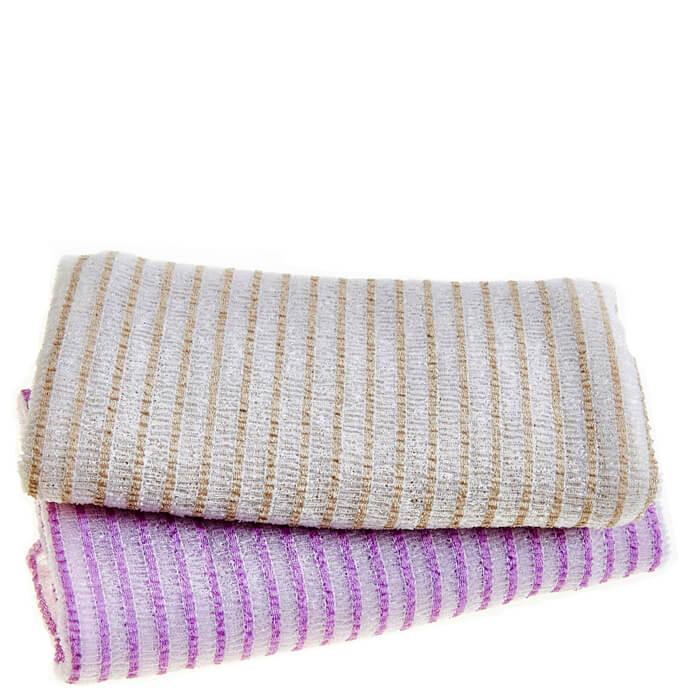 Купить Мочалка для душа Sungbo Cleamy Bali Shower Towel, Мочалка для душа с жаккардовой текстурой из нейлона и хлопка, Южная Корея