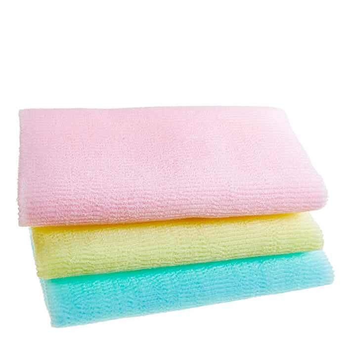 Купить Мочалка для душа Sungbo Cleamy Roll Wave Shower Towel, Мочалка для душа с шероховатой текстурой и пилинг эффектом, Южная Корея