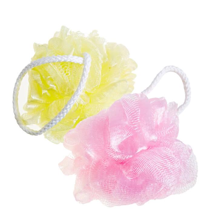 Купить Мочалка для душа Sungbo Cleamy Rose Shower Ball, Мочалка для душа позволяет получать обильную пену, Южная Корея