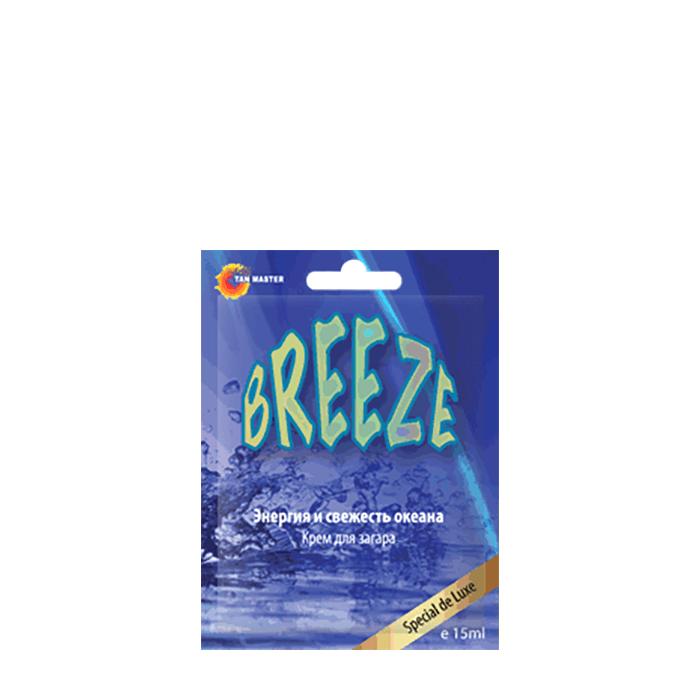 Купить Крем для загара в солярии Tan Master Breeze (15 мл), Крем для загара в солярии с легким бронзингом и охлаждающим эффектом, Россия