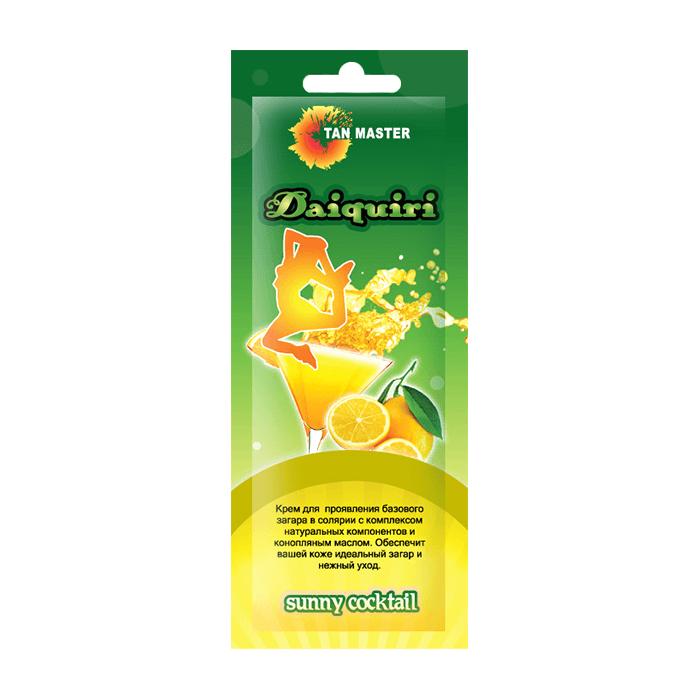 Купить Крем для загара в солярии Tan Master Daiquiri (12 мл), Крем для проявления базового загара в солярии с конопляным маслом, Россия