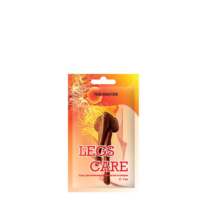 Купить Крем для загара в солярии Tan Master Legs Care (7 мл), Крем для получения красивого загара на ногах с согревающим и охлаждающим эффектами, Россия