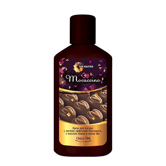 Крем для загара в солярии Tan Master Mocaccino (120 мл) Нежный крем с маслом какао и ореха ши с легким эффектом бронзинга фото
