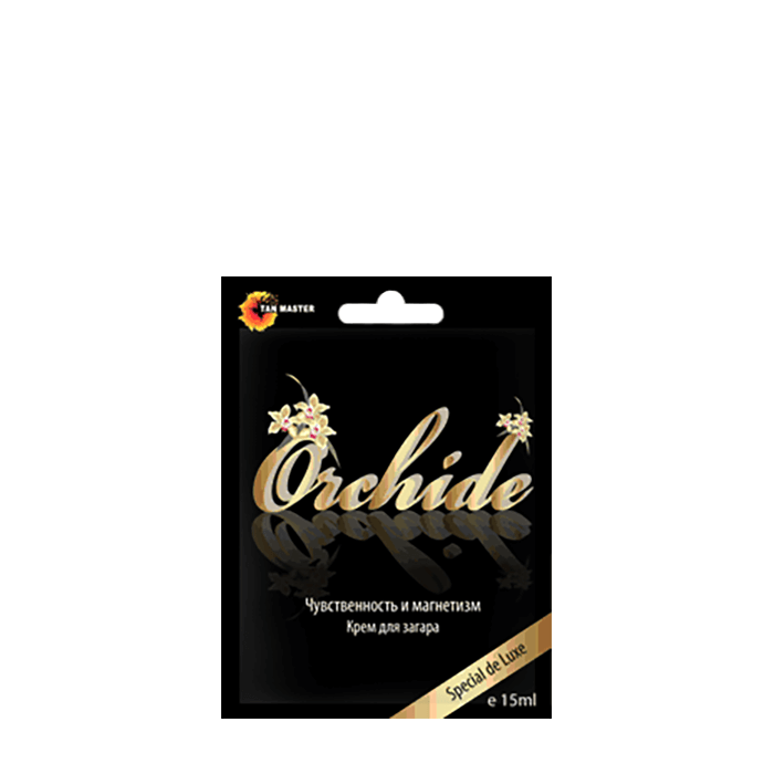 Купить Крем для загара в солярии Tan Master Orchide (15 мл), Крем для загара в солярии с тонизирующим и увлажняющим эффектом, Россия