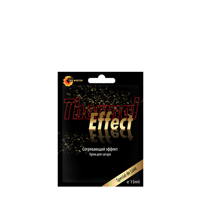 Купить Крем для загара в солярии Tan Master Thermal Effect (15 мл), Крем для загара в солярии с высоким содержанием бронзаторов и конопляного масла, Россия