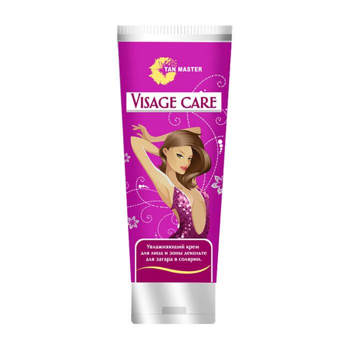 Крем для загара в солярии Tan Master Visage Care (75 мл) Крем с нежной текстурой для бережного ухода за кожей лица и зоны декольте в солярии фото