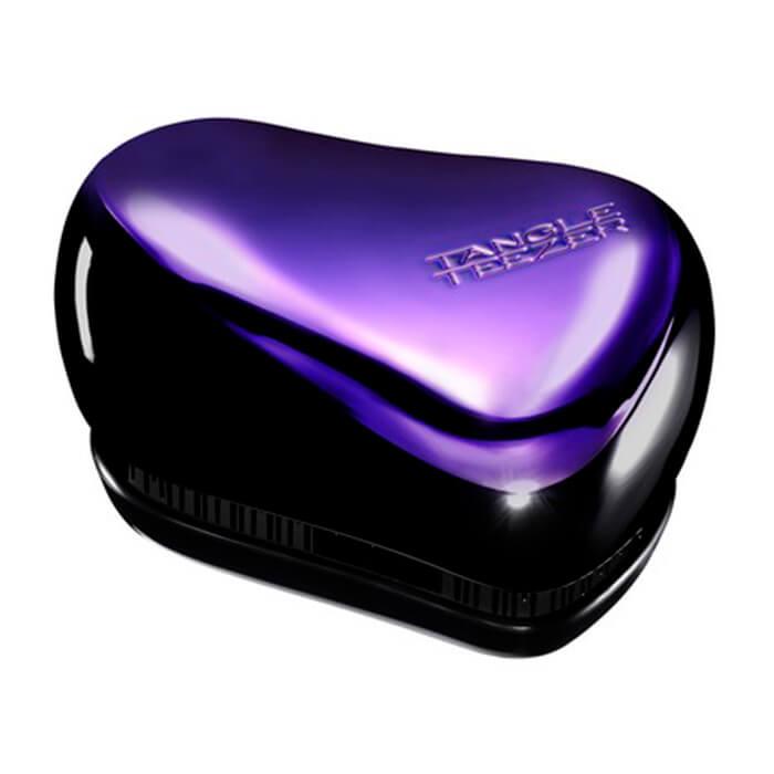 Расческа для волос Tangle Teezer Compact Styler - Purple Dazzle Компактная фиолетовая профессиональная расческа для волос