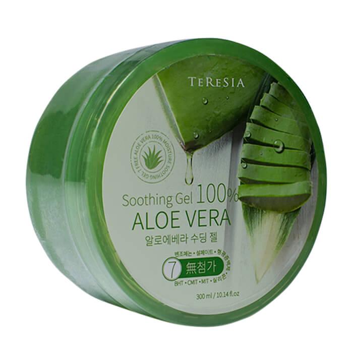 Гель с алоэ Teresia Aloe Vera Soothing Gel Универсальный увлажняющий гель для ухода за кожей и волосами с алоэ вера фото