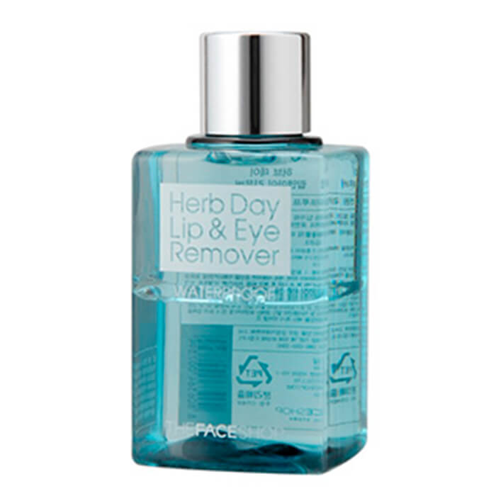 Купить со скидкой Средство для снятия макияжа The Face Shop Herb Day Lip & Eye Make Up Remover Waterproof