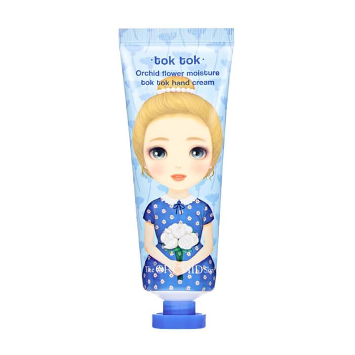 Купить Крем для рук The Orchid Skin Orchid Flower Moisture Tok Tok Hand Cream, Увлажняющий крем для рук с экстрактом орхидеи, Южная Корея