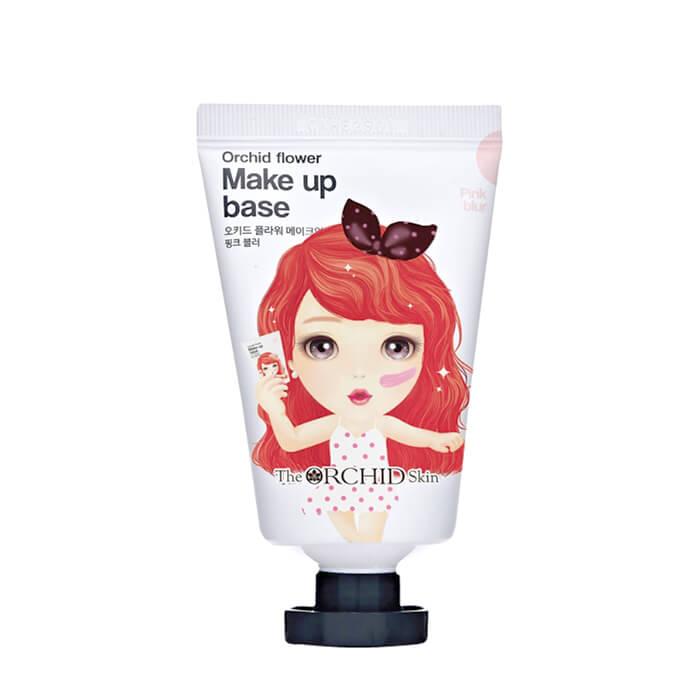 Купить Основа под макияж The Orchid Skin Orchid Flower Make Up Base Pink Blur, База под макияж с розовым оттенком для улучшения тусклого тона кожи лица, Южная Корея