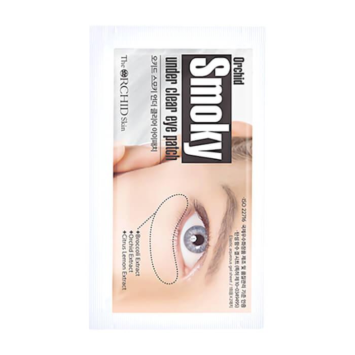 Купить Патчи для век The Orchid Skin Elastic-Patch Smoky Under Youth Eye Patch (2 шт.), Эластик-патчи против темных кругов под глазами и носогубных складок, Южная Корея