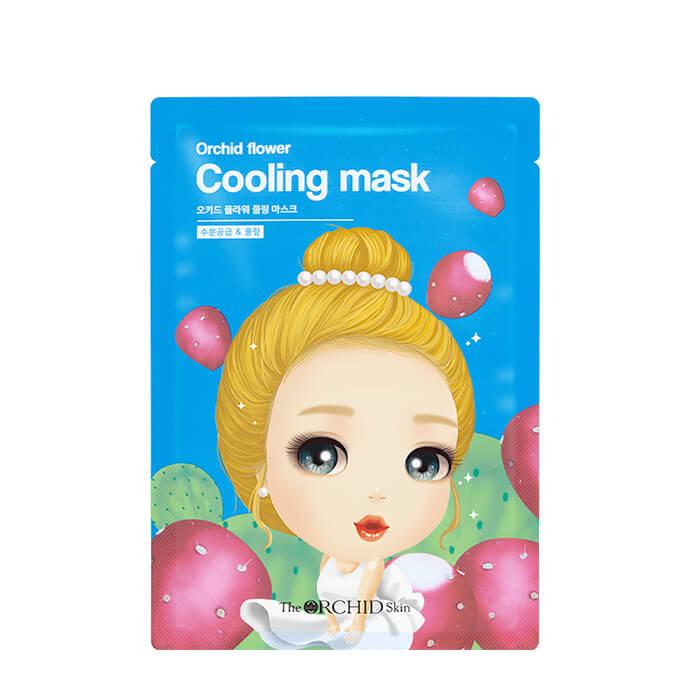 Тканевая маска The Orchid Skin Orchid Flower Cooling Mask (1 шт.) Успокаивающая тканевая маска для лица с охлаждающим эффектом фото