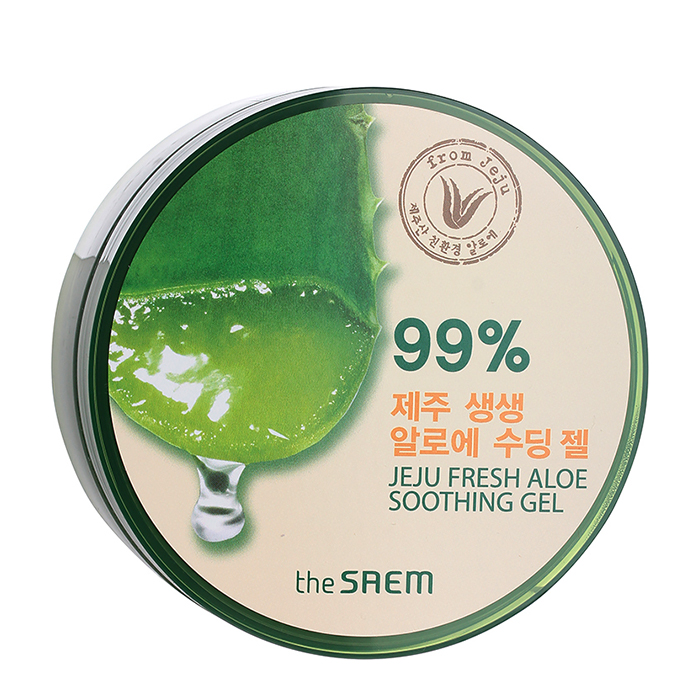 Гель с алоэ The Saem Jeju Fresh Aloe Soothing