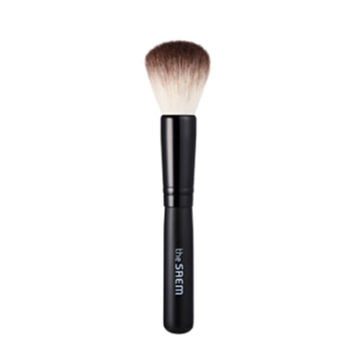 Купить Кисть для нанесения пудры The Saem Powder Brush, Специальная кисть для нанесения рассыпчатой пудры, Южная Корея