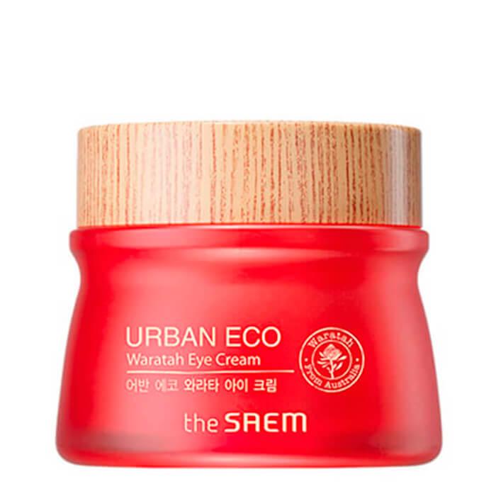 Купить Крем для глаз The Saem Urban Eco Waratah Eye Cream, Крем для кожи вокруг глаз с 61% экстракта телопеи, Южная Корея