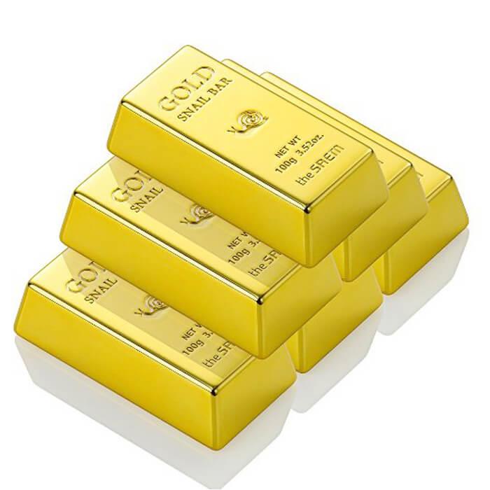 Мыло для лица The Saem Gold Snail Bar, код