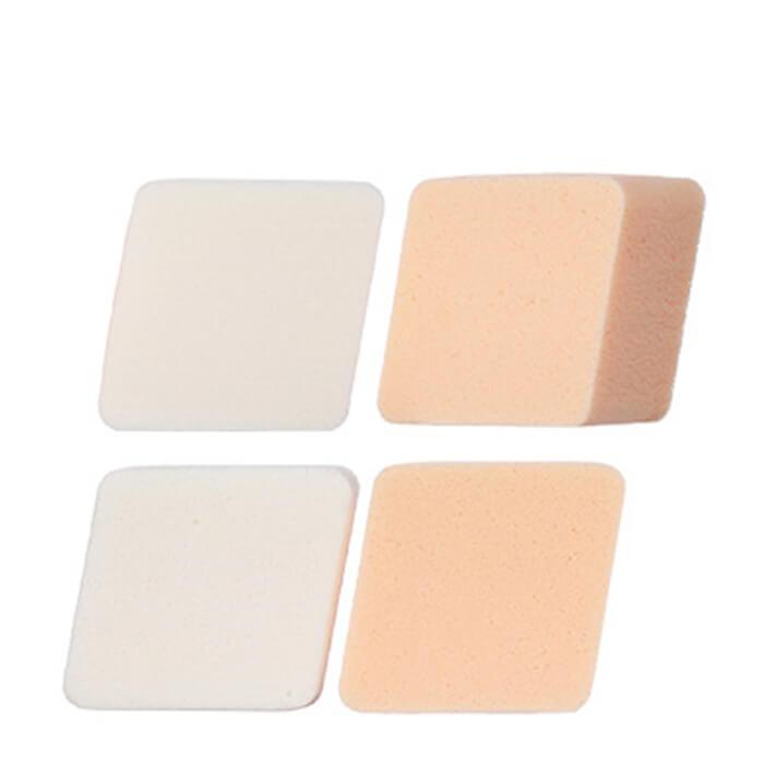 Купить Спонжи для макияжа The Saem Make-up Sponge (4P), Набор из 4 косметических спонжа для нанесения макияжа, Южная Корея