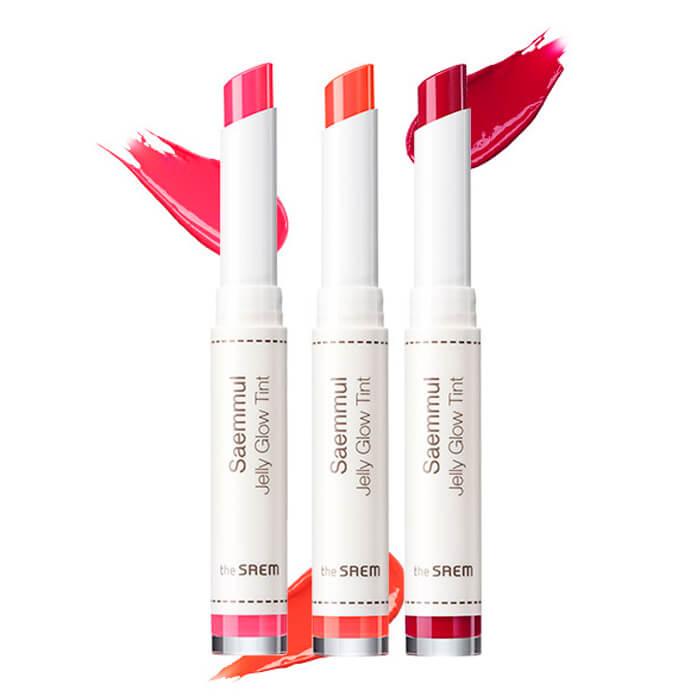 Купить Тинт для губ The Saem Saemmul Jelly Glow Tint, Стойкий тинт для лёгкого макияжа губ с сочными оттенками, Южная Корея