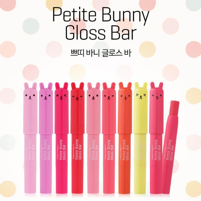 Блеск для губ Tony Moly Petite Bunny Gloss Bar Увлажняющая помада-бальзам для губ