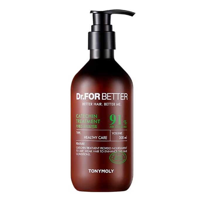 Купить Кондиционер для волос Tony Moly Dr.For Better Catechin Treatment, Гипоаллергенный кондиционер для волос с катехинами зелёного чая, Южная Корея